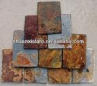 rustic brown color slate roof tiles