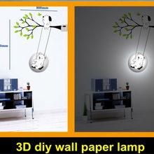 2013 new style 3D DIY wallpaper night lamp Children's Bedroom
