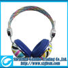 fashion colorful noise canceling small wireless headphones