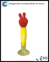Advertising custom recycle plastic bobble head ballpoint pen/ ballpen