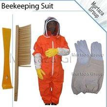 Laranja e vestuário de protecção apicultura terno, traje de abelha, o apicultor terno