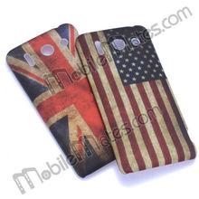 Popular US/UK Flag PC Hard Case Back Cover for HuaWei G510 U8951, wholesale phone flag case