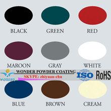 Wonder powder coating colors
