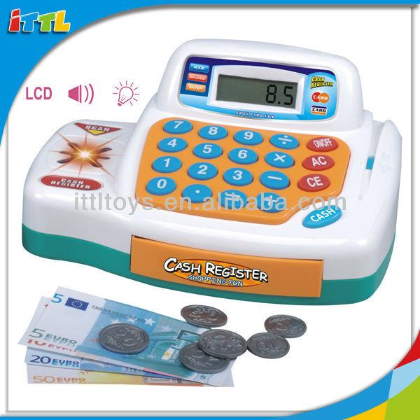 لعبة موسيقية جميلة حاسبة a508036 تسجيل النقدية لعب اطفال