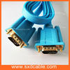 Coaxial 15 pin factory supply colorful cable vga, vga cable