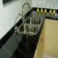 black galaxy bancada da cozinha de topo