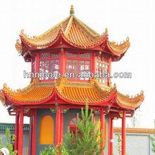 Beautiful garden design build gazebo roof