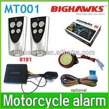 waterproof motorcycle alarm system MT001-8191 engine start