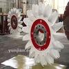 Pelton water turbine for hydro electric power plant 800KW generator