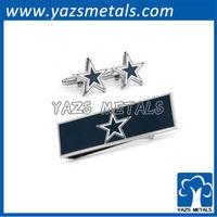 Dallas Cowboys Cufflinks and Money Clip Gift Set
