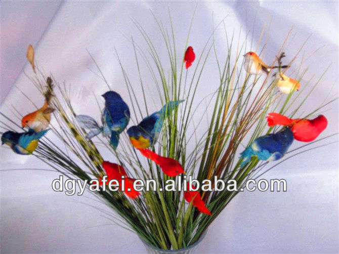 Wholesale cheap factory supplying craft beautiful for Artificial grass decoration crafts