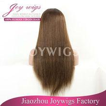 Aaaaa cheap raw brazilian virgin hair blue lace front wig