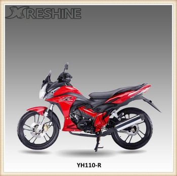 YH110-R Newest red 110cc pockte bike for adults