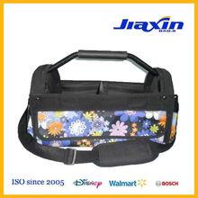 flower metal handle tool bag with EVA grip