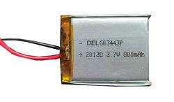 3.7v flat rechargeable li ion battery
