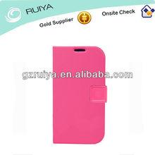 Popular Promotion Ladies Phone Case PU Leather Pink Cell Phone Case Smartphone Flip Folder Holder Mobil Phone Bag