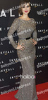 Wholesale - 2013 New Berenice Marlohe Red Carpet Elie Saab Sequined Sash Crystals Celebrity Evening Dress With Long Sleeves