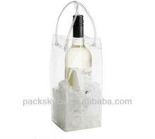 wholesale plastic wine bottle bag