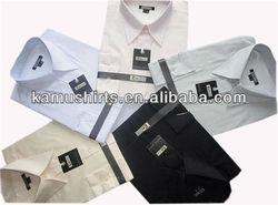 Wholesale long point collar shirts men formal dress shirts