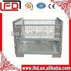 the latest fruit storage folding steel storage cage