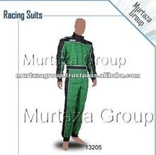 Green Black Racing Karting Suits & Gloves, Go Kart Gloves & Suits , Karting Gloves,