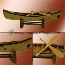 Wooden Boat/Canoe
