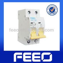 Switchgear rating 63 amp mcb