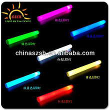 new led red green blue color flashing light foam wands Made in Shenzhen