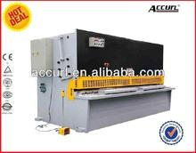 Export to Europe QC12Y-16x2500 E10 Iron Sheet Hydraulic Shearing Machine