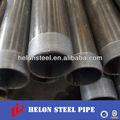 negro de acero conducto tubos redondos y tubos