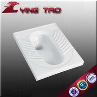 Sanitary ware flushing porcelain waterless toilet ceramic squatting ceramic urinal pan