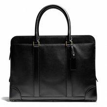 2014 latest fashion high quality trendy cow leather men business handbag EC9168