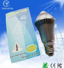 Factory direct sale 6w led motion sensor security light