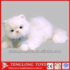 2014 custom stuffed vivid plush cat toy cute cat plush toy