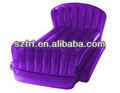 cama inflável roxo