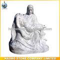 Assis pierre, Mary et jésus Satue Sculpture