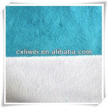 toy fabric/bedding fabric/sofa/super-soft short hair plush short floss/artifical soft velvet