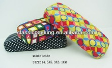 2013 fashion hot wholesale purple glasses case, spy sunglass case,spectacle accessories