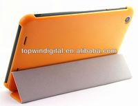 Good Quality Super Slim Folio Cover Leather Case For Lenovo A3000
