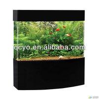 Multicolored decorative big fish tanks for sale