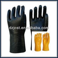 "EN 388 14 "" PVC rough finished gloves for garden working"