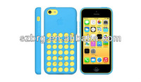 Wholesale colorful silicon case for iphone 5C,new soft case for iphone 5c