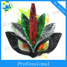 New Design Colorful Pailletter Mask