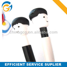 Hot Selling Cartoon Boy Stylus Logo Plastic Ball Pens