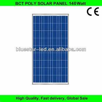 price per watt poly 140w solar panel