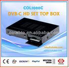 Mpeg4 hd decoder,hd dvb-c set top box, qam hd tv box COL1080C