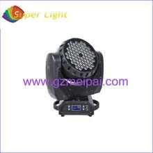 dj equipment 4in1 led 72*3w moving head wash guangzhou/led rgbw disco light