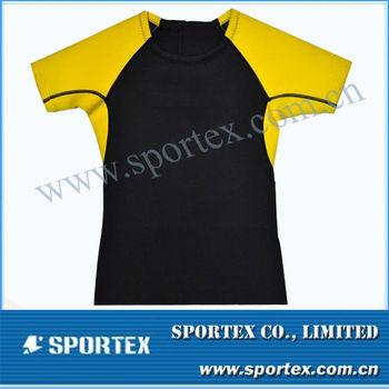 New design Xiamen Sportex kid's surfing top, kid's surfing shirt, kid's surf gear OEM#CP1310