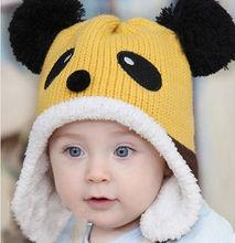 Cute baby funky knitted hat,crochet pattern baby hat