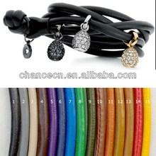 Stretch rye bracelet knot cord string bracelet good health bracelet wheat polished